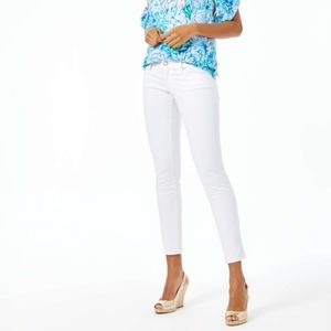 Lilly Pulitzer Report White Worth Skinny Jeans